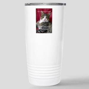 Cat Meme Travel Mug