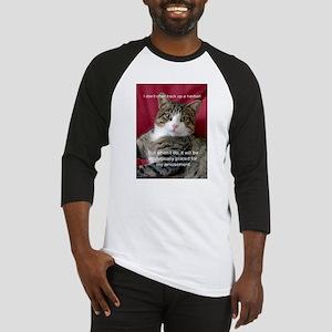 Cat Meme Baseball Jersey