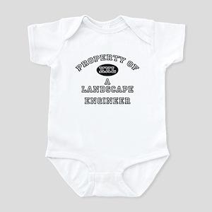 Property of a Landscape Engineer Infant Bodysuit