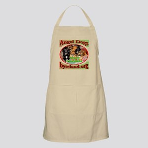 Merry Christmas Angel Dogs Apron