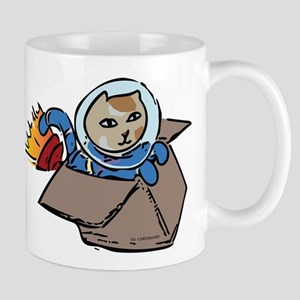 distant traveler Mugs