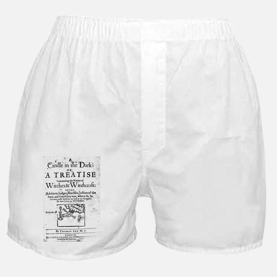 Funny Satanism Boxer Shorts