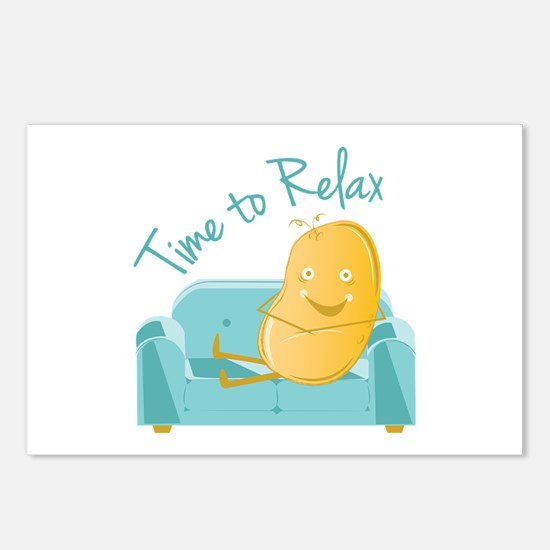 Time To Relax Postcards (Package of 8)