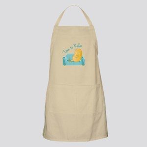Time To Relax Apron
