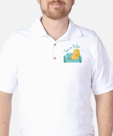 Time To Relax Golf Shirt