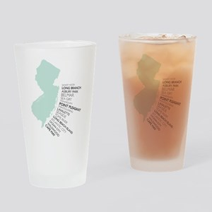 Nj Shore Drinking Glass
