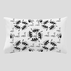 Honey Badger & Cobra Pillow Case