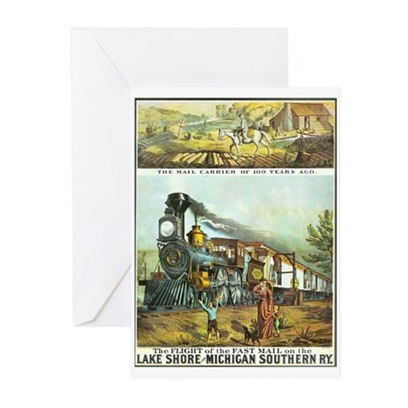 Flight of the Fast Mail Greeting Cards (Pk of 10)