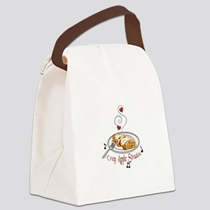 Crisp Apple Strudel Canvas Lunch Bag