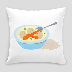 Matzah Balls Everyday Pillow