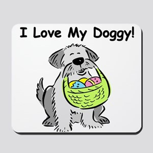 Happy Easter Dog Doggy Mousepad