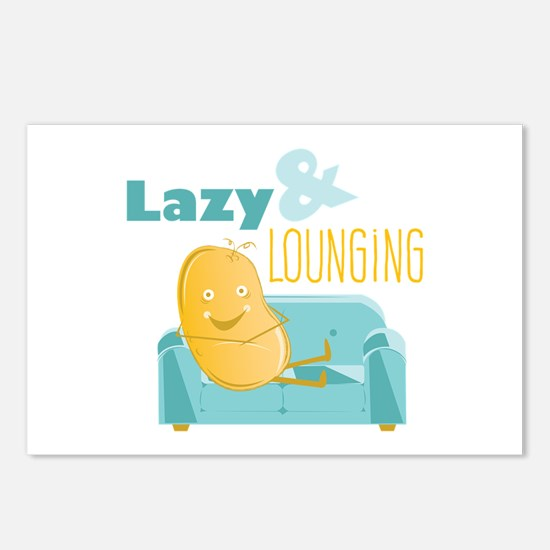 Lazy Lounging Postcards (Package of 8)