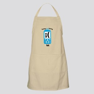 Texting And Driving Apron