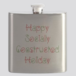 Sociology Christmas Socially Constructed Flask