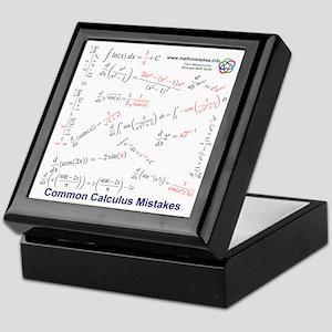 More Common Calculus Mistakes Keepsake Box