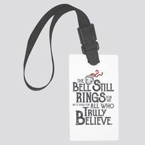 bell still Large Luggage Tag