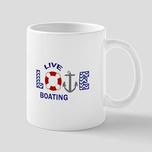Live Love Boating Mugs