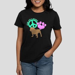 P,L,BULLDOGS Women's Dark T-Shirt
