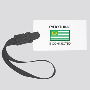 Everything Is Connected Luggage Tag