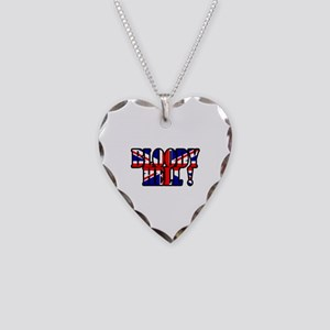 Bloody Hell! Necklace Heart Charm