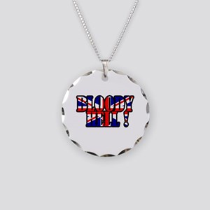 Bloody Hell! Necklace Circle Charm