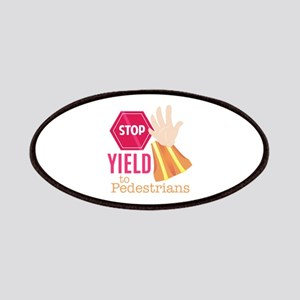 Yield To Pedestrians Patch
