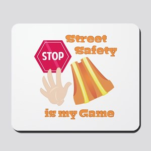 Street Safety Mousepad