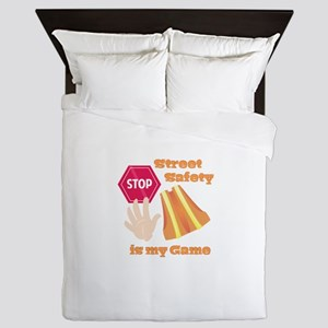 Street Safety Queen Duvet