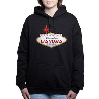 Welcome to Fabulous Las Women's Hooded Sweatshirt