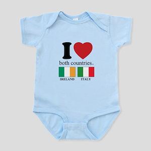 IRELAND-ITALY Infant Bodysuit