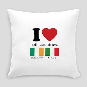 IRELAND-ITALY Everyday Pillow