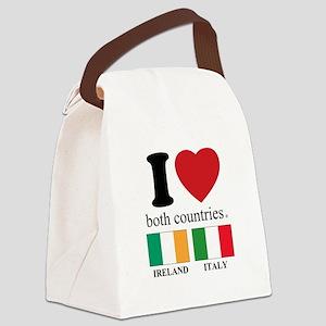 IRELAND-ITALY Canvas Lunch Bag