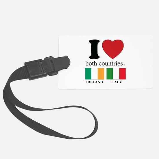 IRELAND-ITALY Luggage Tag