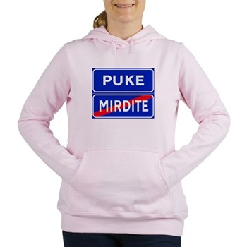 Puke, Albania Women's Hooded Sweatshirt
