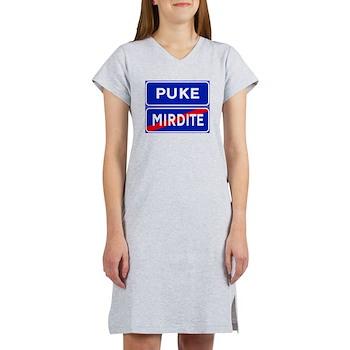 Puke, Albania Women's Nightshirt