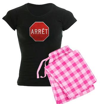 Stop, Quebec (CA) Women's Dark Pajamas