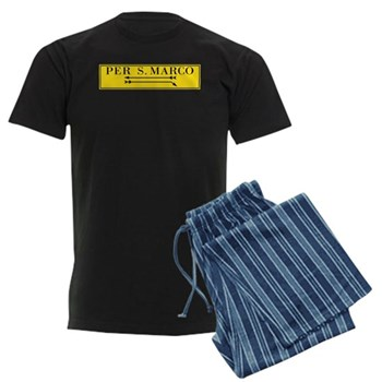 Per San Marco, Venice (IT) Men's Dark Pajamas
