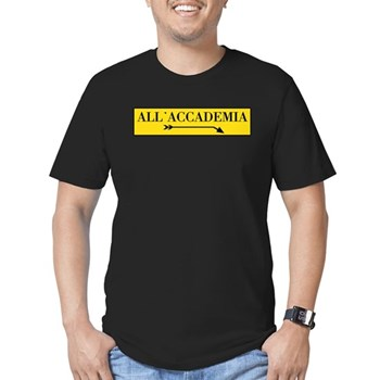 All'Accademia, Venice (IT) Men's Fitted T-Shirt (d