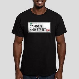 Camden High St, London, UK Men's Fitted T-Shirt (d