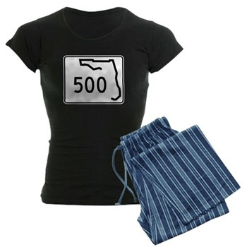 Route 500, Florida Women's Dark Pajamas