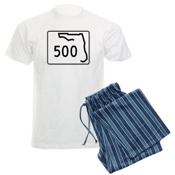 Route 500, Florida Men's Light Pajamas