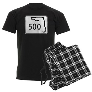 Route 500, Florida Men's Dark Pajamas
