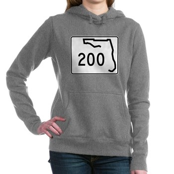 Route 200, Florida Women's Hooded Sweatshirt