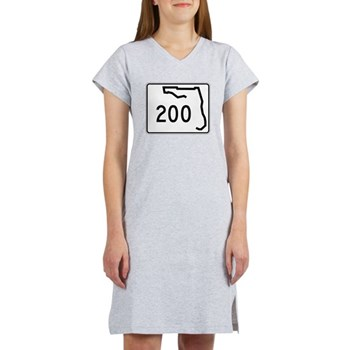 Route 200, Florida Women's Nightshirt