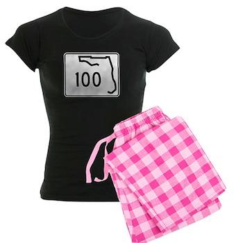 Route 100, Florida Women's Dark Pajamas