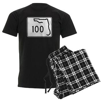 Route 100, Florida Men's Dark Pajamas