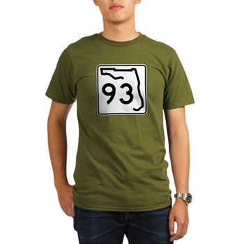 Route 93, Florida Organic Men's T-Shirt (dark)