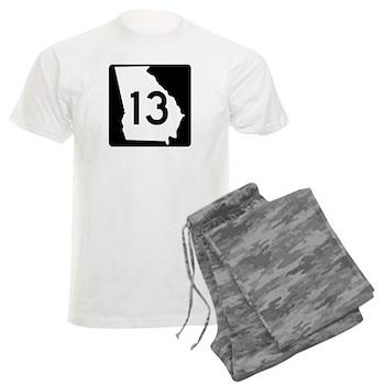 State Route 13, Georgia Men's Light Pajamas