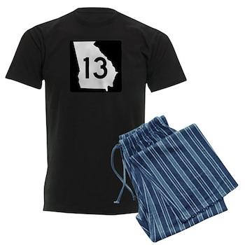 State Route 13, Georgia Men's Dark Pajamas