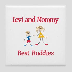 Levi & Mommy - Buddies Tile Coaster
